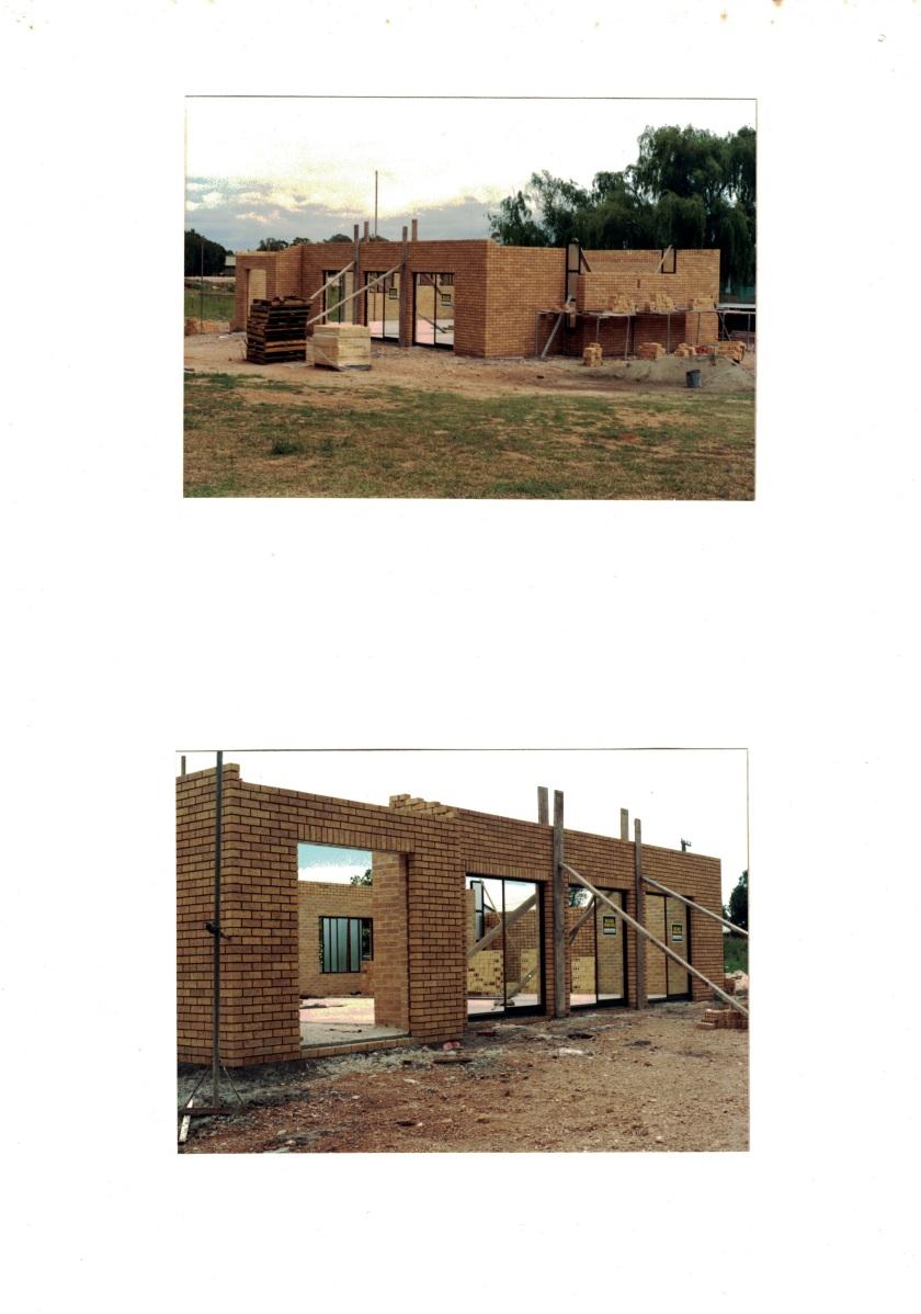 1987 Brickwork in progress 13 Kemp St Oct Nov 1987 19