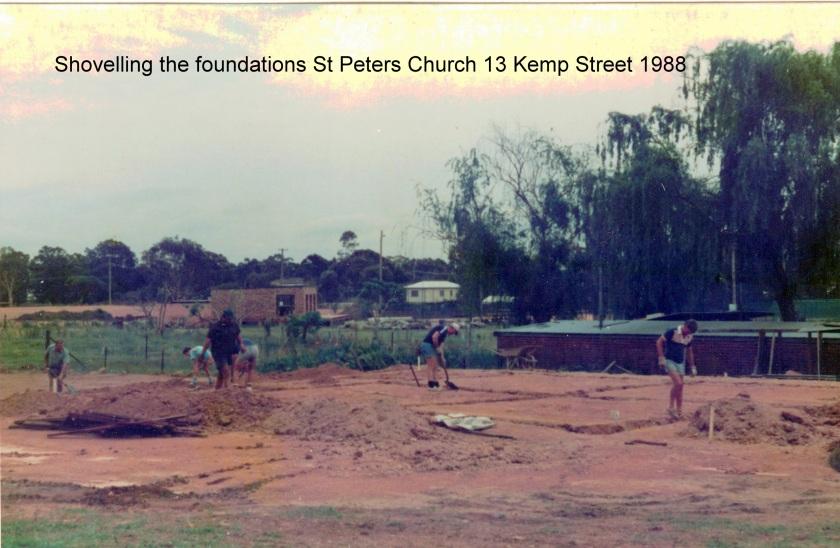 1987 Foundations church 13 Kemp Street